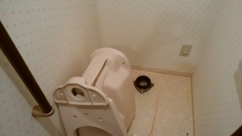 札幌市 トイレ詰まり除去しました