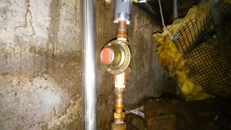 札幌市 中央区 凍結後の漏水 修理を承りました。
