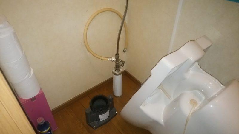 札幌市 手稲区 トイレ 異物詰まり 解決しました。