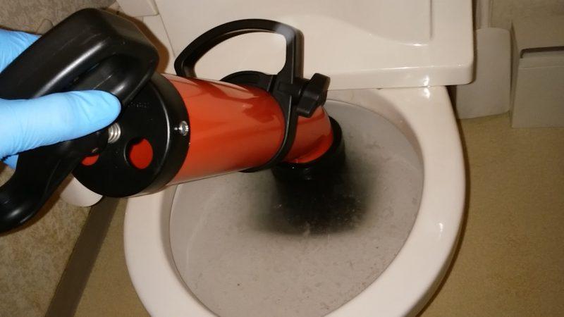 札幌市西区 トイレつまり修理 │ ローポンプ作業でズバッと解決!