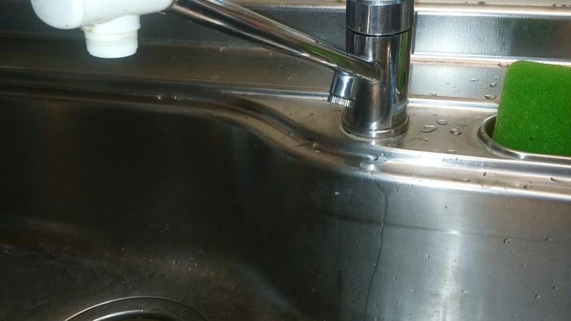 札幌市南区 蛇口の水漏れ修理 │キッチンの蛇口 修理にすべきか交換にすべきか