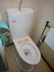 札幌 豊平区 トイレのリフォーム あとは便座だけ