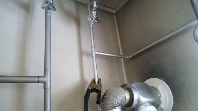 札幌市 豊平区 西岡 水道凍結 解氷作業 │電気解氷作業しました