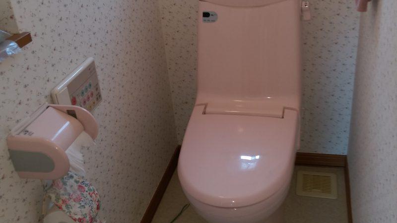 江別市新栄台 トイレ 水漏れ 修理 | 一階と二階を入れ替えるという方法