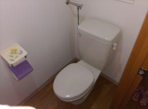 江別市 野幌町 洋式 トイレ の 交換 工事 施工前のトイレ