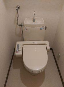トイレ を できるだけ安く 交換したい |札幌市厚別区|交換前