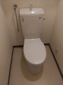 トイレ を できるだけ安く 交換したい |札幌市厚別区|工事完了