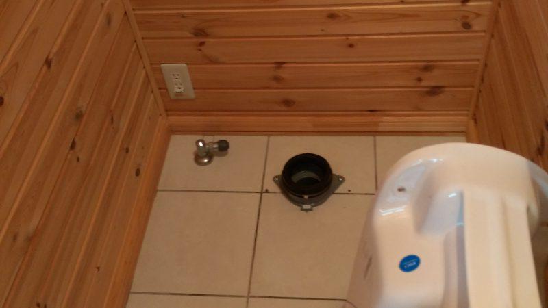トイレ の 詰まり修理 |江別市 一番町 |トイレがカポカポ鳴る