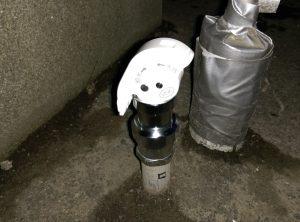屋外水抜栓 破損 して 水落しできない! 上部レバー交換完了
