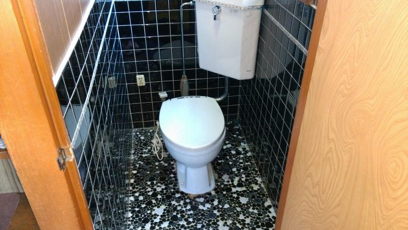 トイレ 詰まり 地下トラップ に 異物が!? | 札幌市 南区 真駒内| 洋式トイレの交換工事