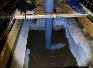 地下トラップとは? トイレ の 異物 詰まり |札幌市 南区|排水管完成