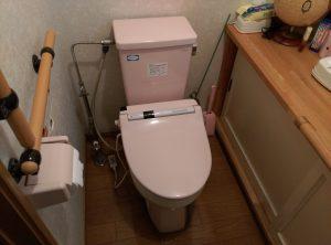 話題の フチレス トイレ に交換したい | 江別市 作業前