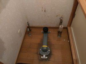 話題の フチレス トイレ に交換したい | 江別市 撤去完了
