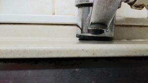 蛇口 が グラグラ で 水漏れ する | 札幌市 中央区 | 作業前③