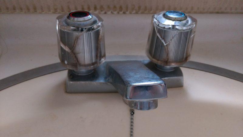 洗面所 蛇口 ハンドル を換えたい | 札幌市 清田区 北野 | ちょっとした部品交換で解決です