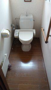 トイレを新しくしたい | 江別市  施工前①