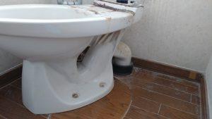 トイレを新しくしたい | 江別市  施工中①