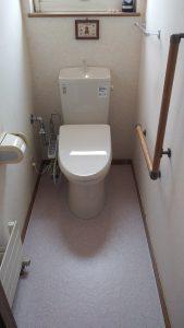 トイレを新しくしたい | 江別市  施工後②