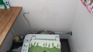 突然 トイレ で 水が 出て すぐ止まる   江別市 上江別   タンク取り外し