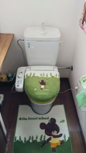 突然 トイレ で 水が 出て すぐ止まる   江別市 上江別   修理後